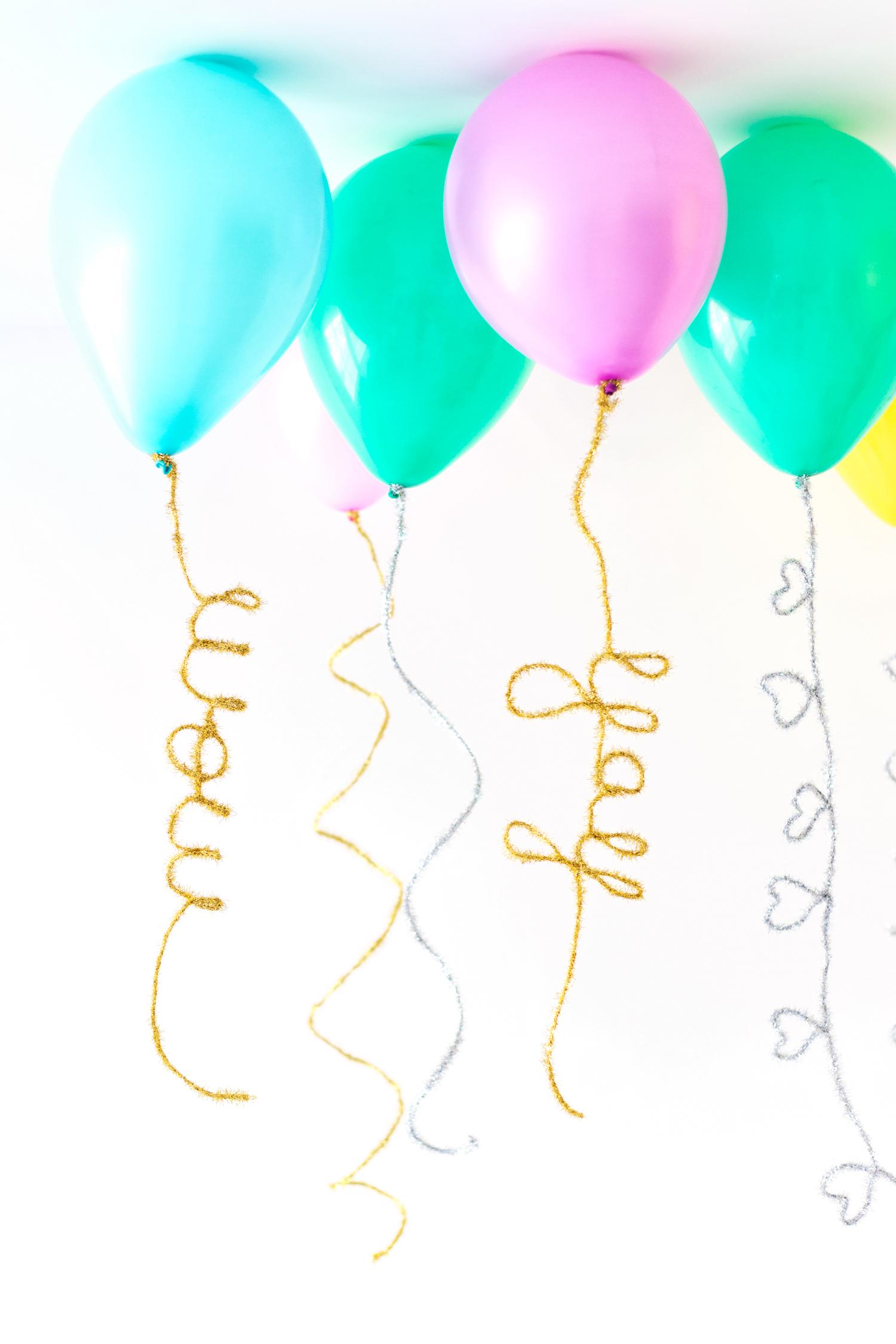 ukrasni baloni sa šljokicama