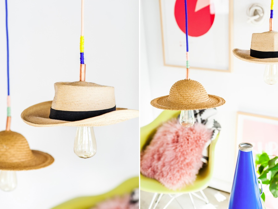 lusteri od šešira